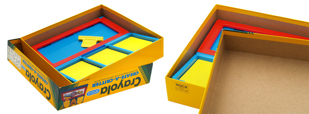 Box lid and interior for Crayola Create_A-Critter by Binney & Smith, Inc.