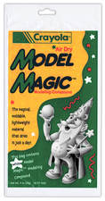 Model Magic™ Wizard for Crayola's Air Dry Model Magic™ Modeling Compound. Character design and illustration by Joe Lacey.