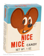 Nice Mice Candy Box from The Candy Wrapper Museum.