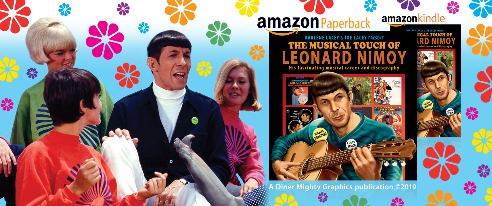 The Musical Touch of Leonard Nimoy: His fascinating musical career and discography book by Darlene Lacey and Joe Lacey